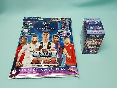 Topps Match Attax Champions League 2018/2019 Starterpack + 30 Booster  18/19