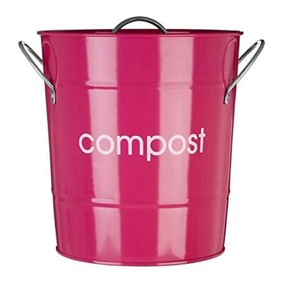 Premier Housewares Compost Bin - Hot Pink By Premier Housewares - Bucket