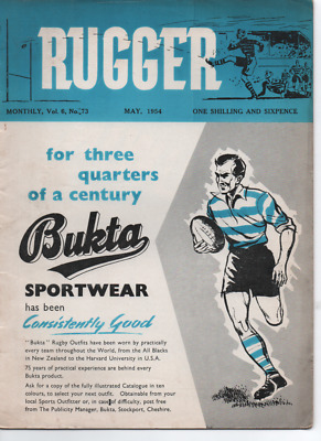 RUGBY UNION - Rugger magazine May 1954 Volume 6 Number 73