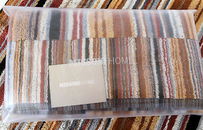 Missoni Home BATH TOWEL SINGLE GIFT BRANDED PACKAGING SUPER ABSORBING FIZZ T60