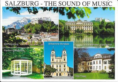 Salzburg -Sound of Music - Austria - Unposted Postcard