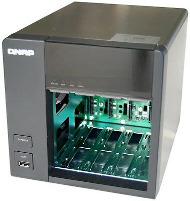 QNAP TS-412 TURBO NAS 4-BAY UP TO 16GB NETWORK ATTACHED STORAGE SERVER -  BARGAIN