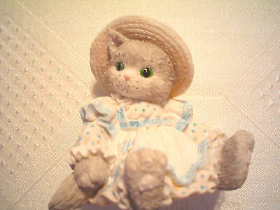 Enesco Calico Kittens~You Always Top Off My Days #626007~1993 # 4C7/207