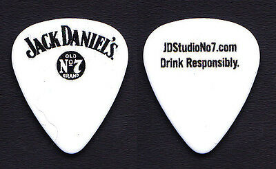 Jack Daniel's Old No 7 Brand White Authentic Guitar Pick