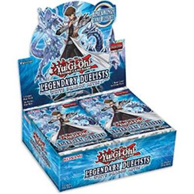 Yugioh Legendary Duelists White Dragon Booster Box-New-Sealed