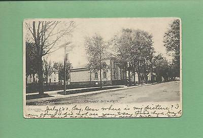 Great View of COURT ST. In CANTON, NY On Vintage 1907 Postcard