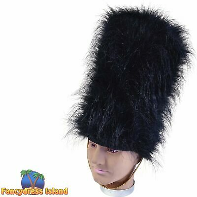 QUEENS BLACK ROYAL Guard Soldier Tall Bearskin Beefeater