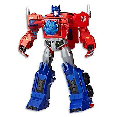 "Transformers Cyberverse - 11.5"" Optimus Prime Autobot - Kids Toys Figure Ages 6+"