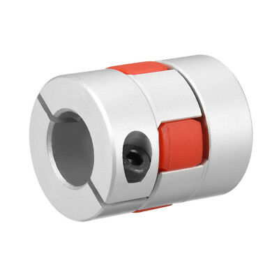 Shaft Coupling 12mm to 14mm Bore L35xD30 Flexible Coupler Joint for Servo Motor