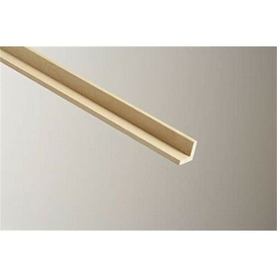 Cheshire Mouldings Square Corner Light Hardwood, 18 x 18mm x 2.4m
