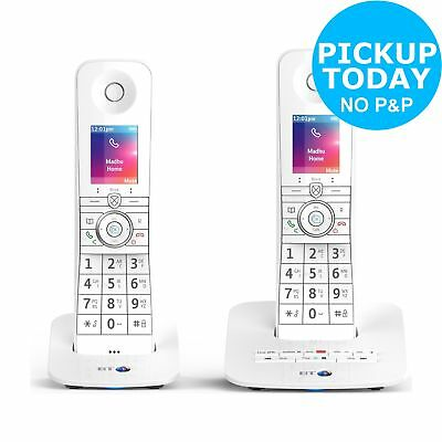 BT Premium Cordless Telephone with Voice Control - Twin