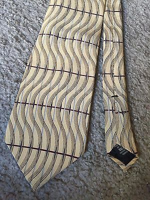 Awesome men's Graham & Lockwood necktie neck tie 100% silk multi colored