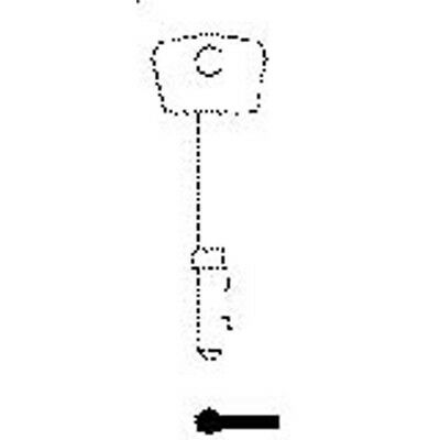 Rst Securefast 5 Lever Mortice Blank, Pack 10