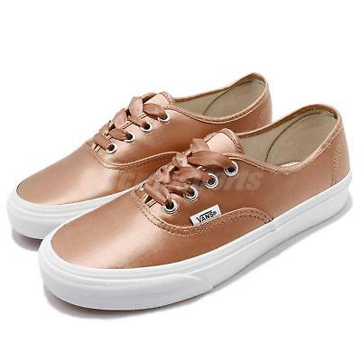 4f0261071838 Vans Authentic Stain Lux Rose White Men Women Skate Boarding Shoes 181010130