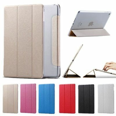 Smart Auto Wake/Sleep Leather Case Flip Stand Magnetic Slim Thin Cover For iPad