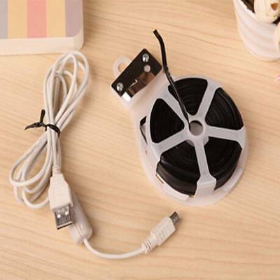 30M Twist Tie Wire Roll Line Organizer Garden Plant Twist Cable Reel With Cutter