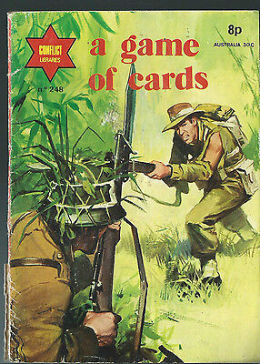 A Game Of Cards,conflict Libraries,no.248,war Comic