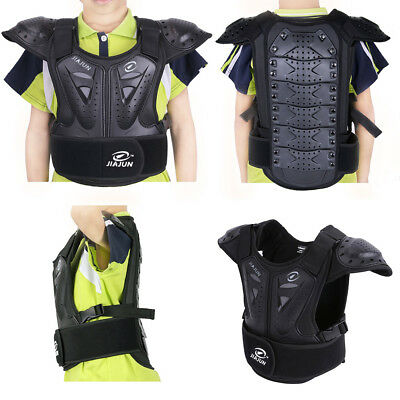 Motorcycle Kids Body Armour Armor Chest Protector Off Road Bike Gear Dirt Bike