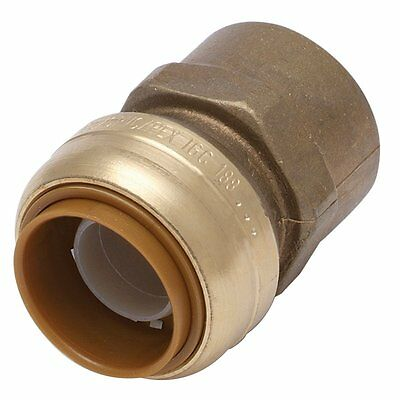 New Shark Bite U088A  Push-Fittings Straight Female Connector, 3/4-by-3/4-Inch *