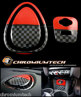 MK3 MINI Cooper/S/ONE F55 F56 F57 Centre Dashboard Panel Cover+ USB AUX Panel