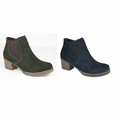 CIPRIATA LADIES NEW Ankle Ankle NEW Boot Knitted Top Niedrig Side Zip Comfortable ... 455471