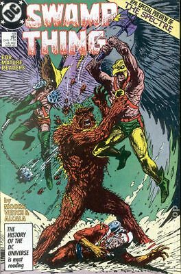 Swamp Thing (2nd Series) #58 1987 VF Stock Image