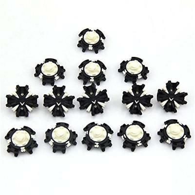 14pcs Replacement Golf Shoe Spikes Champ Fast Twist Cleat System Screw Studs New