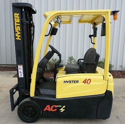 Hyster Model J40XNT (2011) 4000 lbs Capacity Great 3 wheel Electric Forklift!!!!