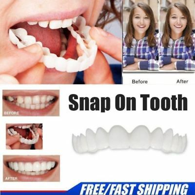 Teeth Whitening Snap On Instant Smile Comfort Fit Flex Perfect Smile Veneers -N