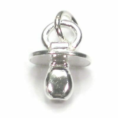 Baby Bottle sterling silver charm .925 x 1 Babies drinking charms DKC40445