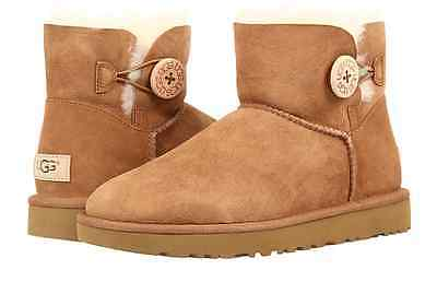 89f96a612c4 UGG AUSTRALIA BAILEY Button II Chestnut Boot Women's sizes 5-11/NEW ...