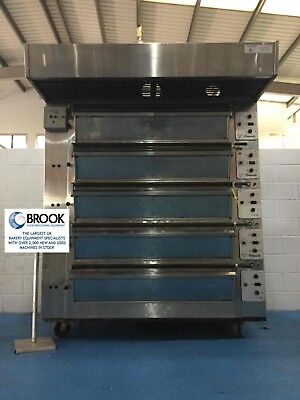 Tom Chandley 15 Tray Deck Oven, Mk4 Control- Stock No P519449 - Bakery Equipment