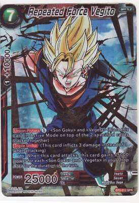 Championship P-065 PR DBS CARTE DRAGON BALL SUPER CARD GAME FR Vegetto
