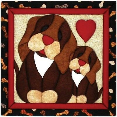 Quilt Magic 12-inch By 12-inch Puppy Love Kit - 12 x 12inch Kit12x12