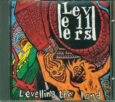 Levellers - Levelling The Land Italy Press Siae Cd Perfetto