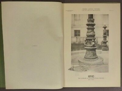 1916 Gorham Bronze Lighting Fixtures & Lamp Standards Trade Catalog