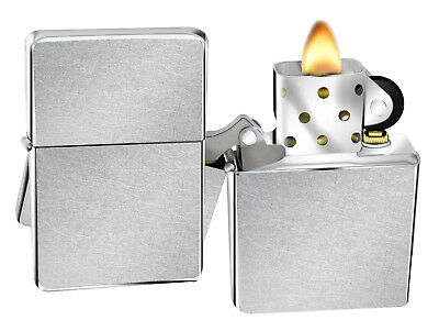 Zippo Lighter 207 Street Chrome Windproof Classic Theme NEW