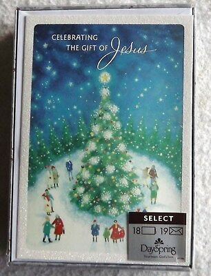 Daysping ChristianChristmas Cards -Celebrating Jesus18ct. NEW with envelopes