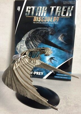 Star Trek Discovery Starships Collection Eaglemoss #4 Klingonischer Bird-of-Prey
