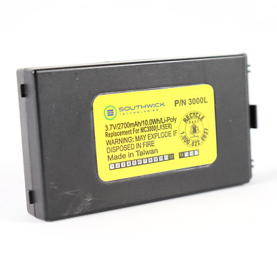 Southwick 3000L Battery For Symbol MC3000 MC3100 Series Scan 3.7V