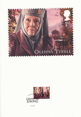 (74206) GB FDC Game of Thrones Souvenir Print 2018