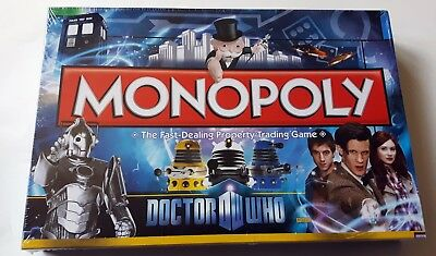 Doctor Who Monopoly game - NEW, SEALED, RARE UK 2011 Edition; Matt Smith