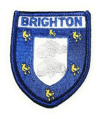 Approx 70mm FREE UK Delivery! ULLAPOOL BADGE Embroidered Sew on Patch