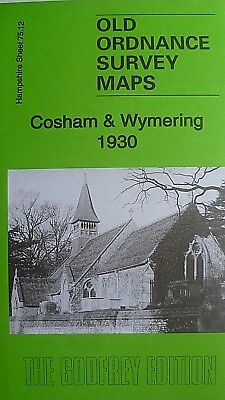 OLD ORDNANCE SURVEY MAPS COSHAM & WYMERING  HAMPSHIRE 1930 Godfrey Edition
