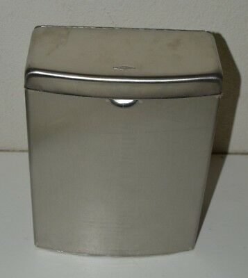 B270 BOBRICK Washroom Equipment CONTURA Stainless Steel Sanitary Napkin Disposal