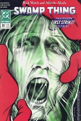 Swamp Thing (2nd Series) #81 1989 FN Stock Image