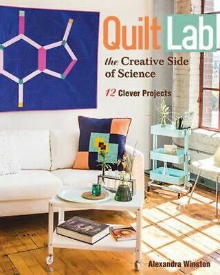 NEW Quilt Lab  By Alexandra Winston Paperback Free Shipping