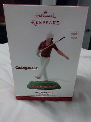 Hallmark 2014 The Zen Of Golf Caddyshack Nib Free Ship Sound 974