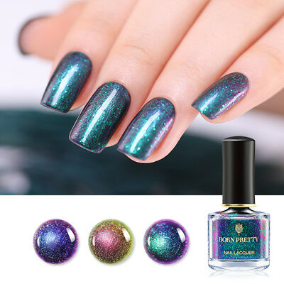 BORN PRETTY 6ml Chameleon Nail Polish Starry  Nail Art Varnish Decor