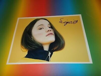 Sigrid - Don't Kill My Vibe  signed signiert  Autogramm auf 20x28 Foto in person